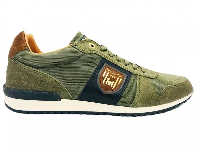 10191027-52A Pantofola d Oro Groene Pantofola d'Oro Veterschoenen Umito