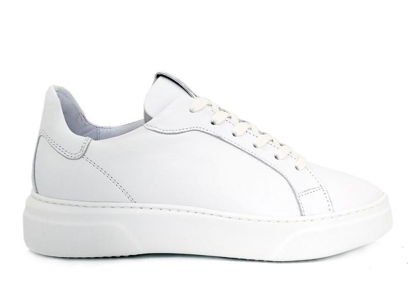 5401010-01 Via Vai Witte Via Vai Sneakers Juno Vitello Bianco