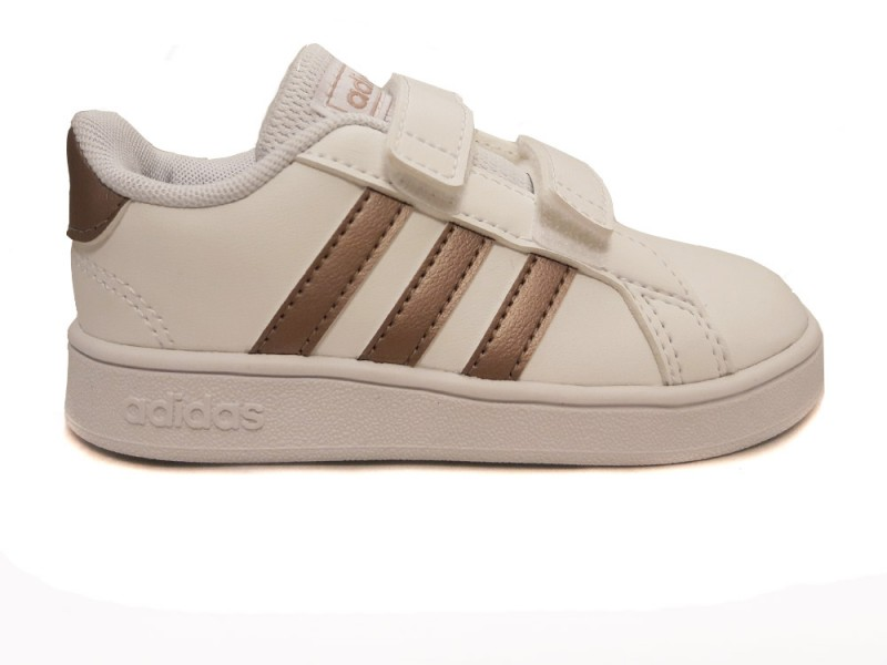 EF0116 Adidas Witte adidas Sneakers Grand Court Kids