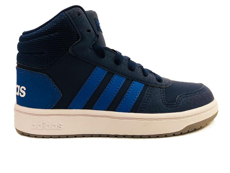 EE6707 Adidas Blauwe adidas Sneakers Hoops 2.0