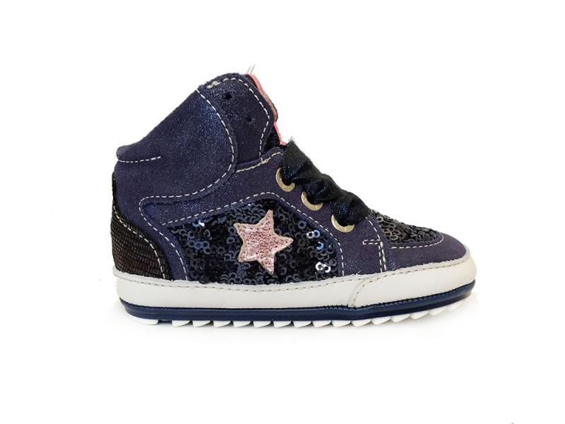 BP7W026-A ShoesMe Blauwe ShoesMe Babyproof Schoenen Flexzool