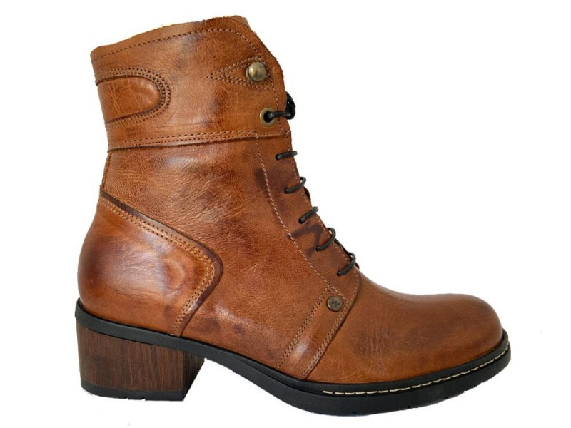 0126630-430 Wolky Bruine Wolky Veterboots Red Deer XW Softy Wax