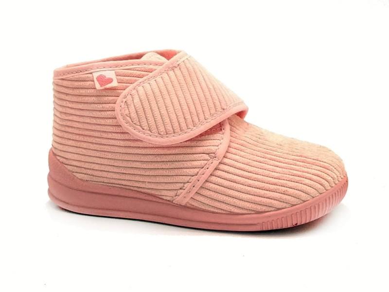114-5100-Rosa Verest Roze Kinderpantoffels
