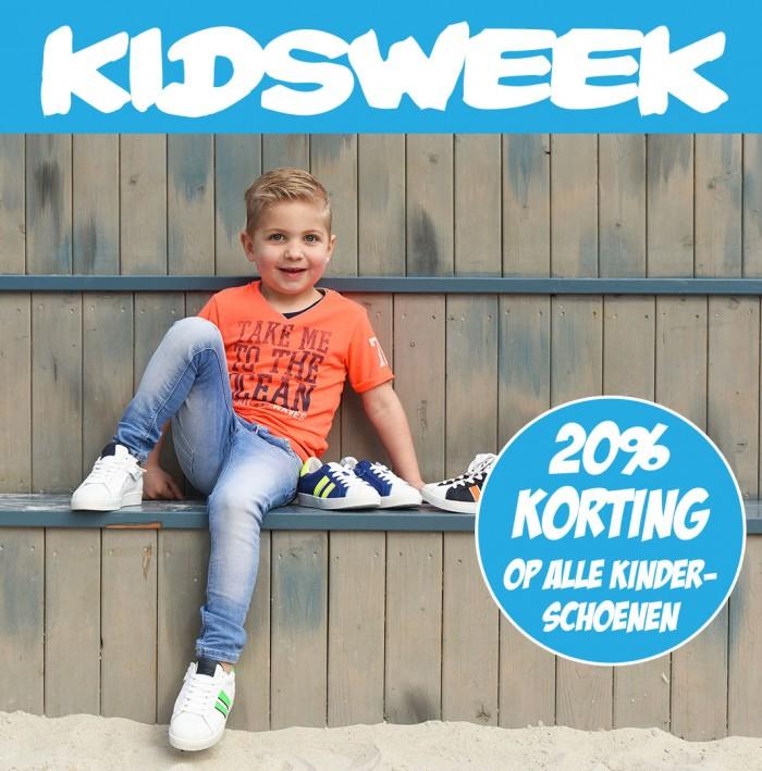 Kidsweek: Nu 20% korting op alle kinderschoenen