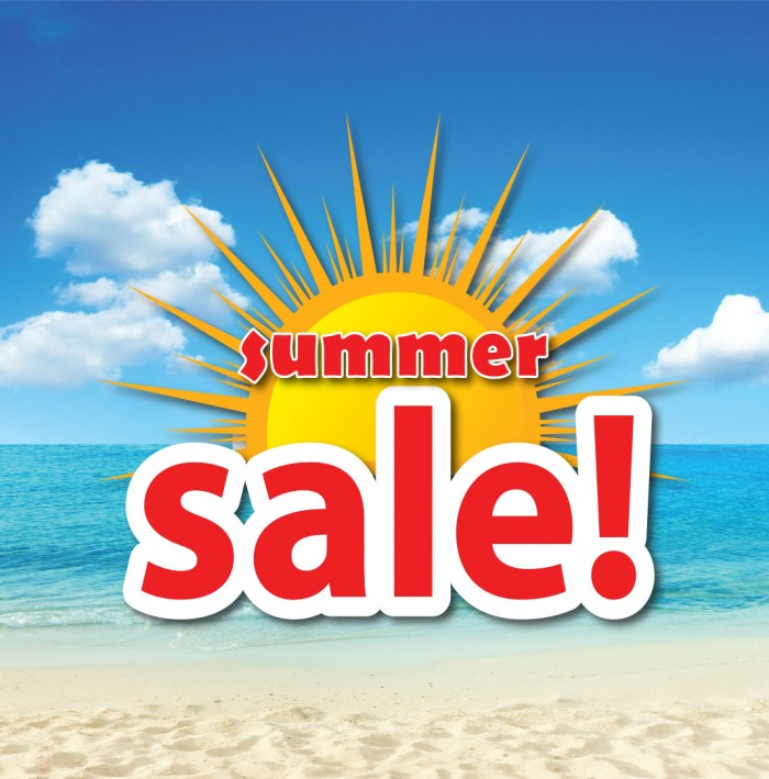 De SummerSale is begonnen!