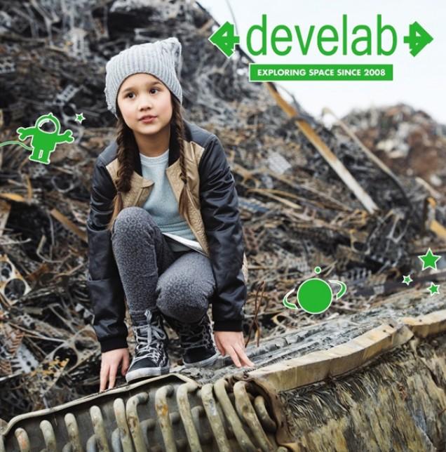 Develab schoenen voor kids!