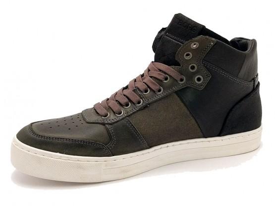 Bjorn Noir Dépôt Chaussures À Lacets Mi Montana ctSbo2Py
