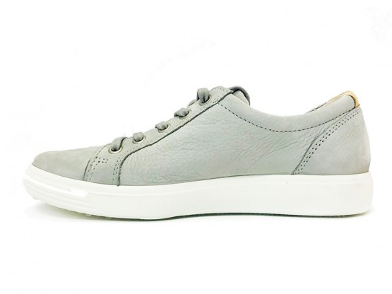 ECCO Veterschoenen soft 7 ladies wild dove grijs