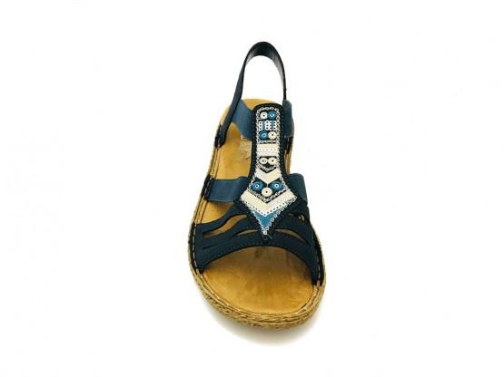 Sandales Bleu Rieker Namur blbJzGcZq